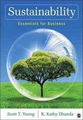 Sustainability 1st Edition 9781452256238 1452256233