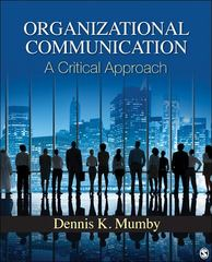 Organizational Communication 1st Edition 9781412963152 141296315X