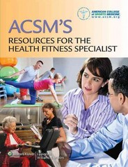 ACSM's Resources for the Health Fitness Specialist 1st Edition 9781451114805 145111480X