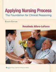 Applying Nursing Process: The Foundation for Clinical Reasoning 8th Edition 9781609136970 1609136977