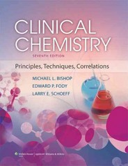 Clinical Chemistry 7th Edition 9781451118698 1451118694