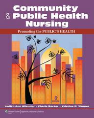 Community & Public Health Nursing 8th Edition 9781609136888 1609136888