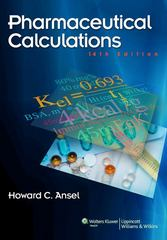 Pharmaceutical Calculations 14th Edition 9781451120363 1451120362