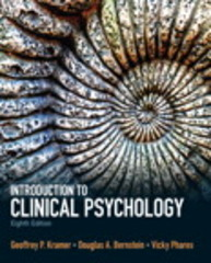Introduction to Clinical Psychology 8th Edition 9780205871858 0205871852