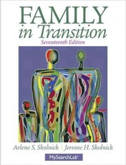 Family in Transition 17th Edition 9780205215973 0205215971