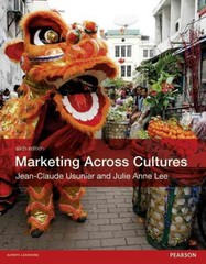 Marketing Across Cultures 6th Edition 9780273757733 0273757733
