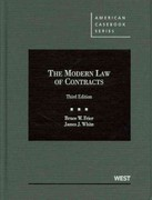 Frier and White's the Modern Law of Contracts, 3d 3rd Edition 9780314265463 0314265465