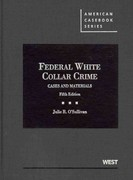 Federal White Collar Crime 5th Edition 9780314276629 0314276629