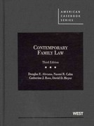 Contemporary Family Law 3rd edition 9780314276872 0314276874