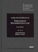 Cases and Materials on Employment Discrimination Law 4th edition 9780314280381 0314280383