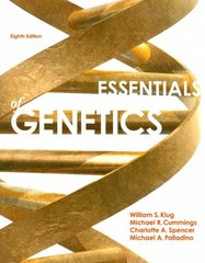 Essentials of Genetics 8th Edition 9780321803115 0321803116