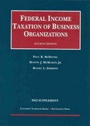 Federal Income Taxation of Business Organizations, 4th, 2012 Supplement 4th edition 9781609302061 1609302060