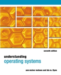Understanding Operating Systems 7th Edition 9781285096551 128509655X