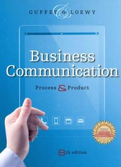 Business Communication 8th Edition 9781285094083 1285094085