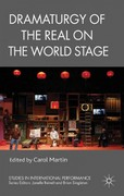 Dramaturgy of the Real on the World Stage 0 9781137016942 1137016949