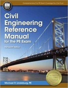 Civil Engineering Reference Manual for the PE Exam 13th edition 9781591263807 1591263808