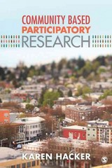 Community-Based Participatory Research 1st Edition 9781452205816 1452205817