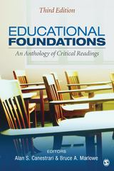 Educational Foundations 3rd edition 9781452216768 1452216762