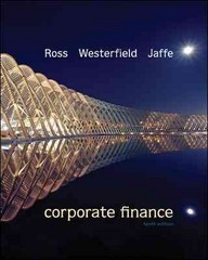 Corporate Finance 10th edition 9780078034770 0078034779