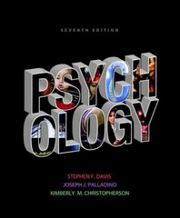 Psychology 7th edition 9780205846849 020584684X