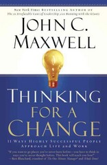 Thinking for a Change 1st Edition 9780446692885 0446692883