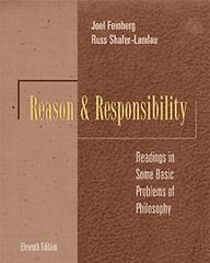 Reason and Responsibility 11th Edition 9780534573522 0534573525