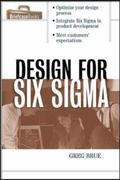 Design for Six Sigma 1st edition 9780071425636 0071425632