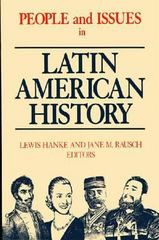 People and Issues in Latin American History 3rd edition 9781558763906 1558763902