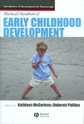Blackwell Handbook of Early Childhood Development 1st edition 9781405120739 1405120738
