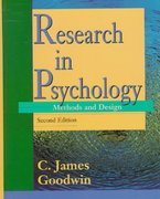 Research in Psychology 2nd edition 9780471199861 0471199869