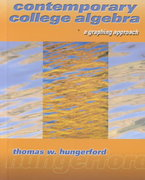 Contemporary College Algebra 0 9780030322617 0030322618