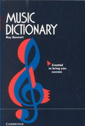 Music Dictionary 0 9780521569309 0521569303
