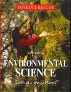 Environmental Science 6th edition 9780470132029 0470132027