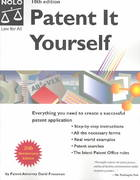 Patent It Yourself 10th edition 9781413300253 1413300251