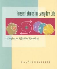 Presentations in Everyday Life 0 9780395888193 0395888190