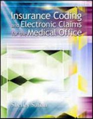 Insurance Coding and Electronic Claims for the Medical Office 0th edition 9780073040998 0073040991