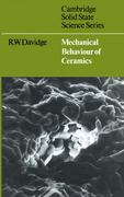 Mechanical Behaviour of Ceramics 0 9780521293099 052129309X