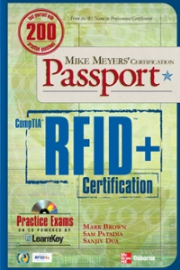 Mike Meyers' Comptia RFID+ Certification Passport 1st edition 9780071510288 0071510281
