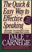 The Quick and Easy Way to Effective Speaking 0 9780671724009 0671724002