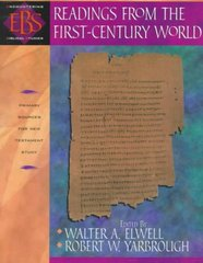Readings from the First-Century World 1st Edition 9780801021572 080102157X