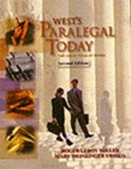 Paralegal Today 2nd edition 9780766810099 0766810097