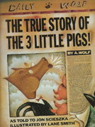 The True Story of the Three Little Pigs 1st edition 9780670827596 0670827592