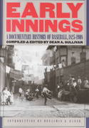 Early Innings 1st Edition 9780803292444 0803292449