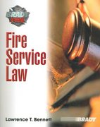 Fire Service Law 1st Edition 9780131552883 0131552880