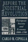 Before the Industrial Revolution 3rd Edition 9780393311983 0393311988