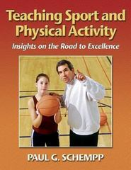 Teaching Sport and Physical Activity 1st edition 9780736033879 0736033874