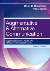 Augmentative and Alternative Communication 4th Edition 9781598571967 1598571966