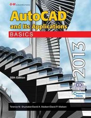 AutoCAD and Its Applications Basics 2013 20th Edition 9781605259185 1605259187