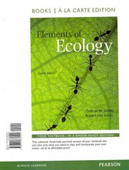 Elements of Ecology, Books a la Carte Edition 8th edition 9780321884541 032188454X