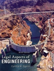 Legal Aspects of Engineering 9th Edition 9780757598845 0757598846